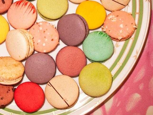 Rainbow cookies at Jenny's 2011