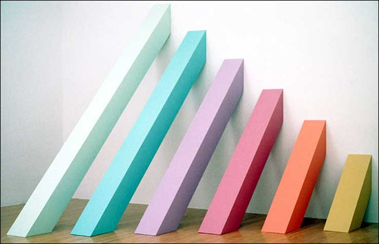 Rainbow PIcket, by Judy Chicago
