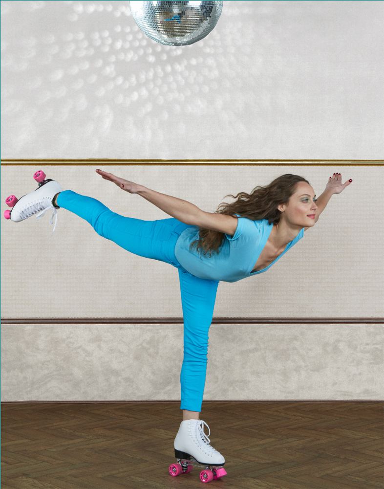 Sarah does Arabesque, copyright Diana Koenigsberg 2013