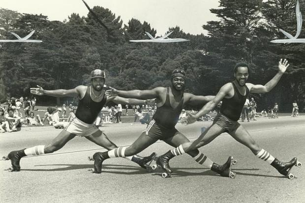 Skaters, SF Chronicle