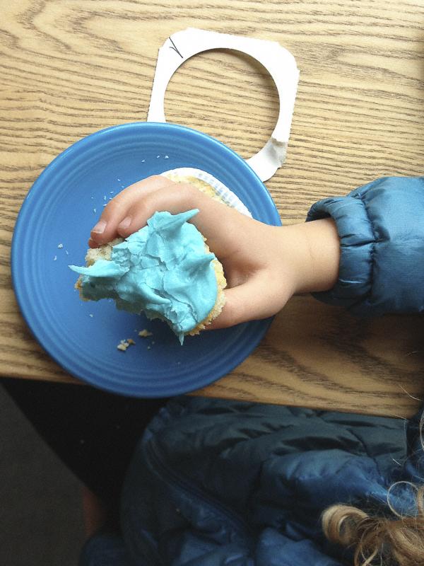 blue cupcake © Diana Koenigsberg 2013