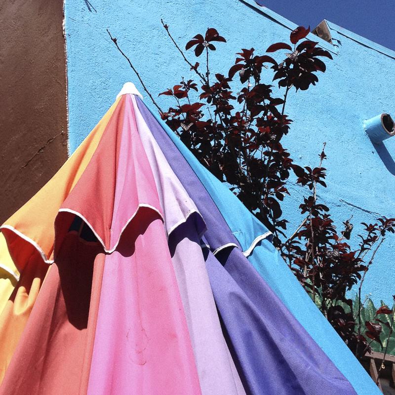 Rainbow umbrella © Diana Koenigsberg 2013