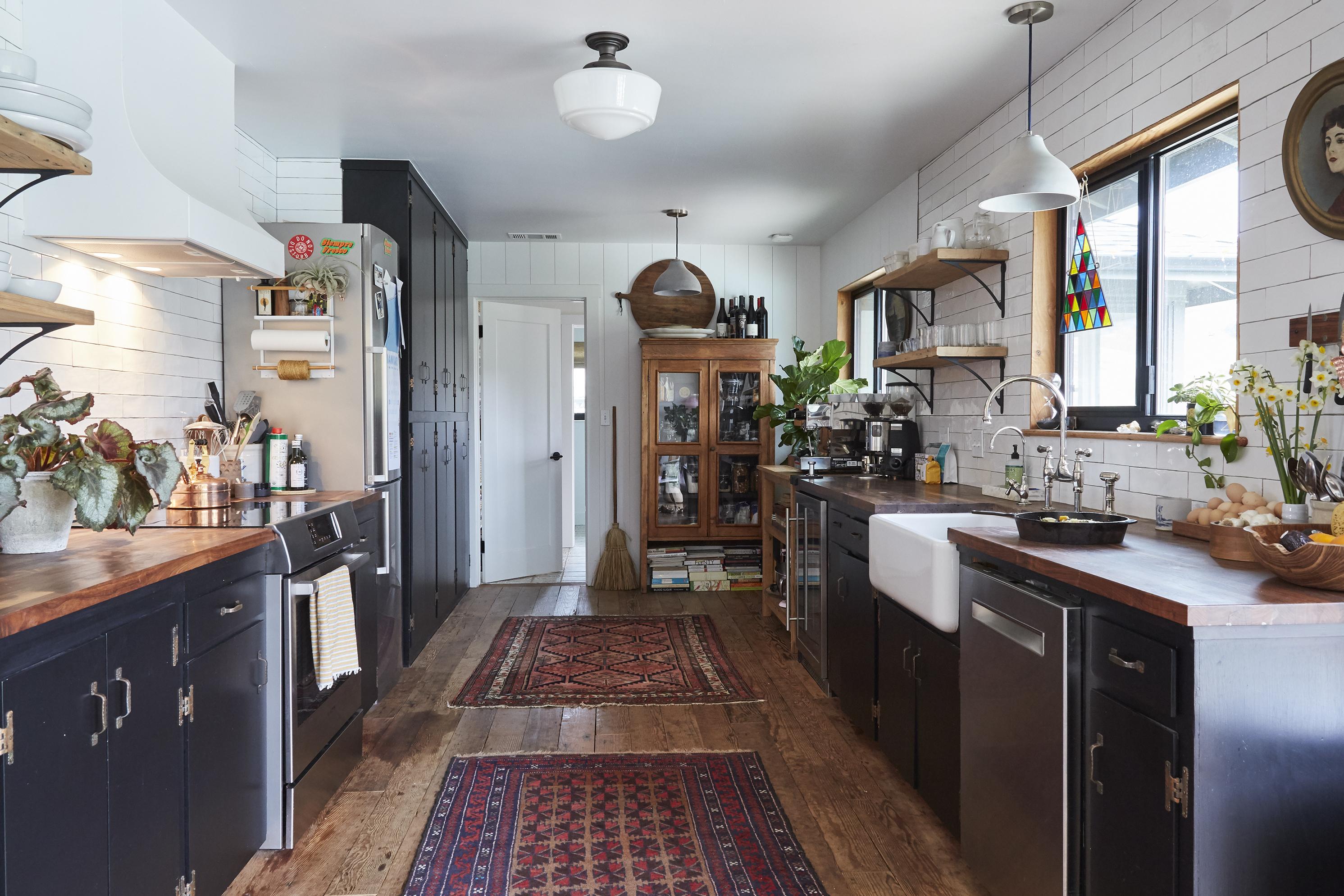 Kitchen of  Eric Pfleeger and Christa Renee in Arroyo Grande, CA