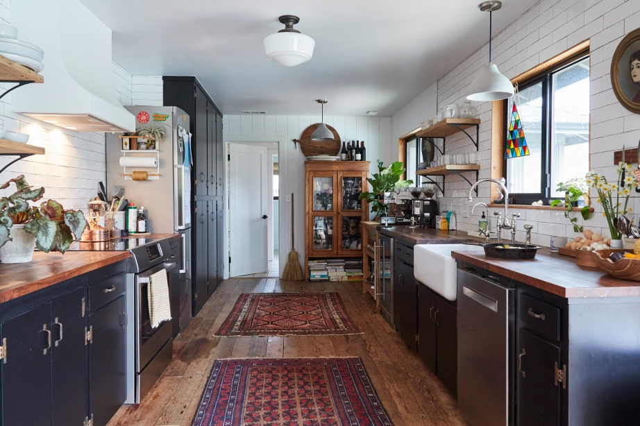 Kitchen of  Eric Pfleeger and Christa Renee in Arroyo Grande, CA